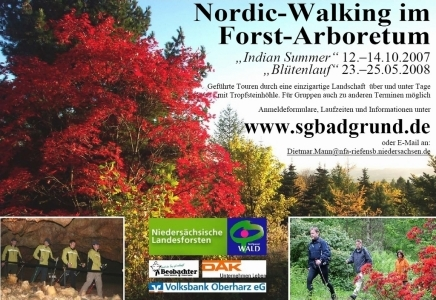Plakat 2. Indian-Summer-Lauf 2007