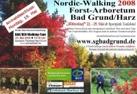 Flyer Nordic-Walking 2008