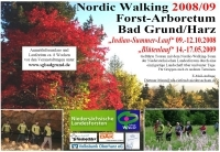 Nordic Walking Ankündigung 2008/2009